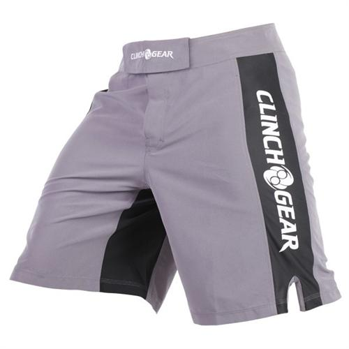 Clinch Gear Clinch Gear Pro Series Shorts - Pewter/Black/White
